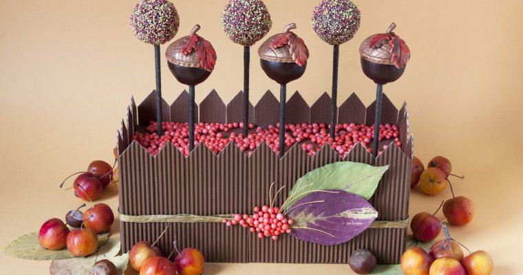 Jesienne cake pops