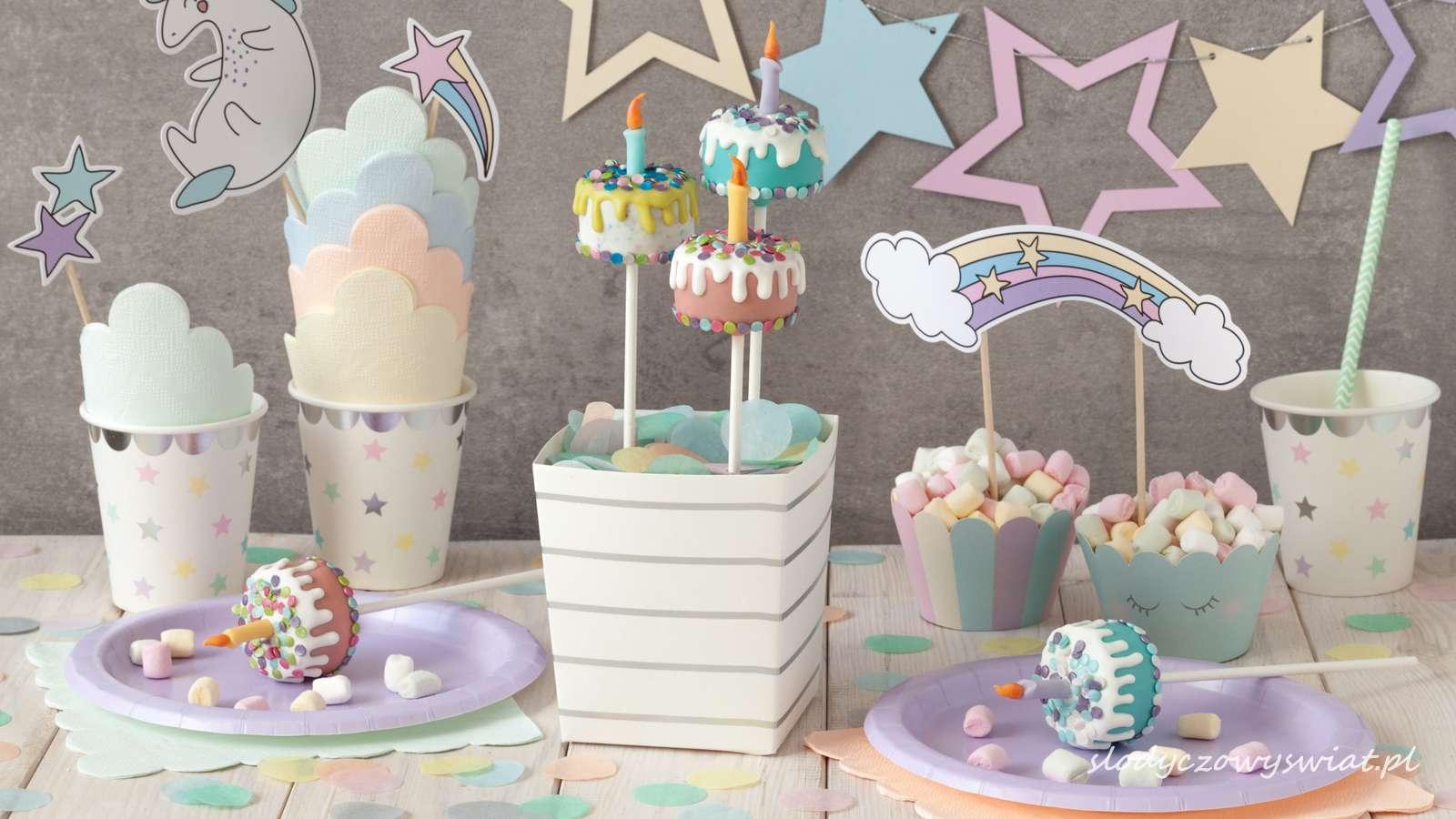 Urodzinowe torciki