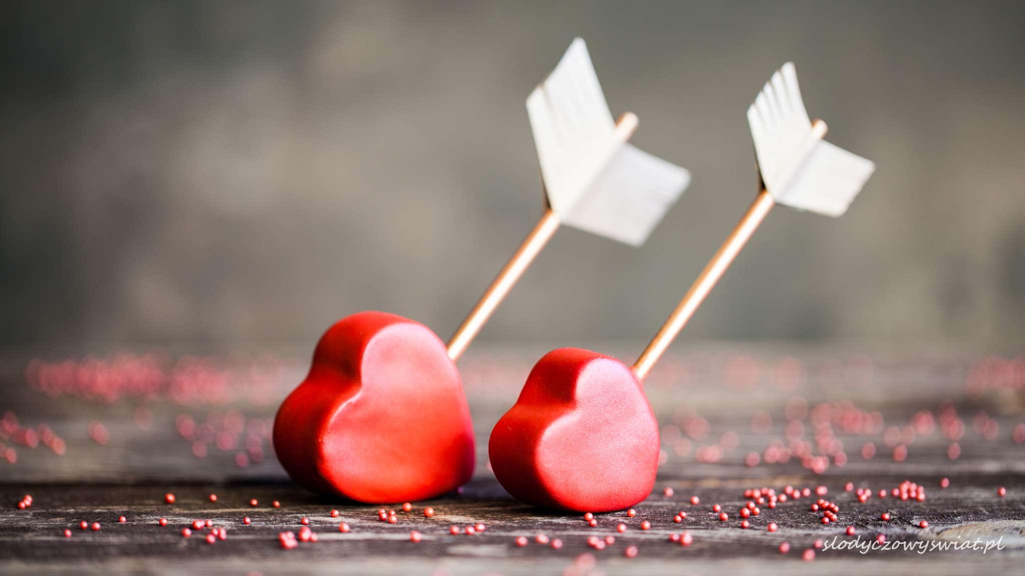 Walentynkowe cake pops