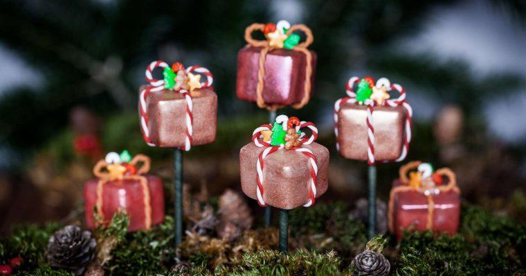 Słodki prezent na patyku