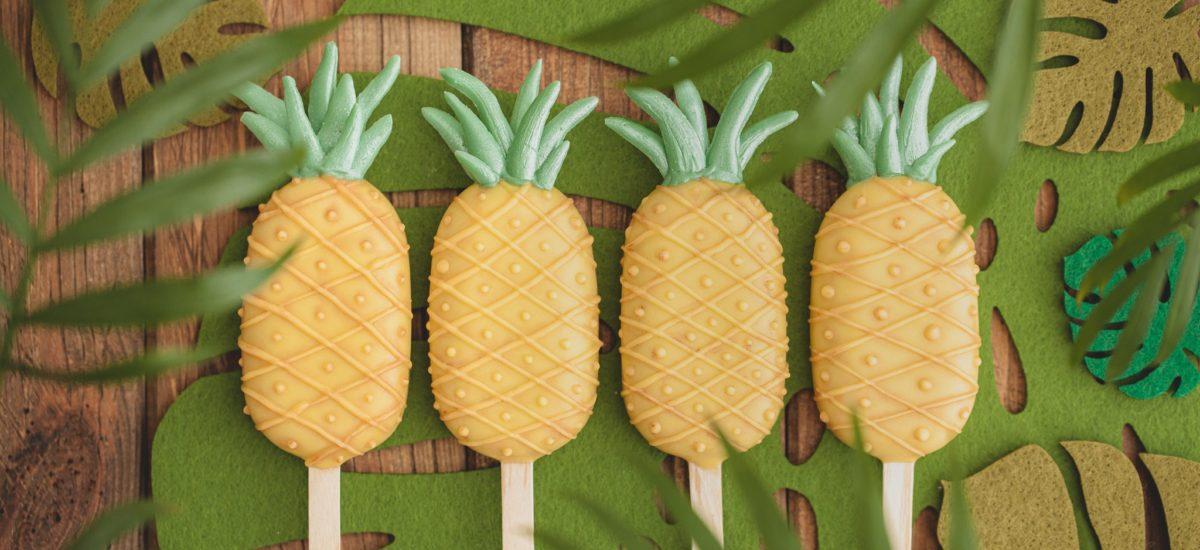 Ananasowe cakesicles